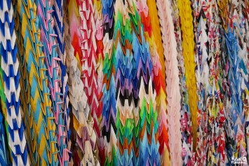 Origami au sanctuaire Atago, Fukuoka