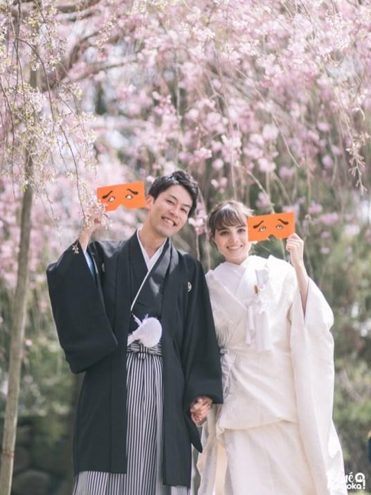 Mariage franco-japonais, ville de Fukuoka, Japon