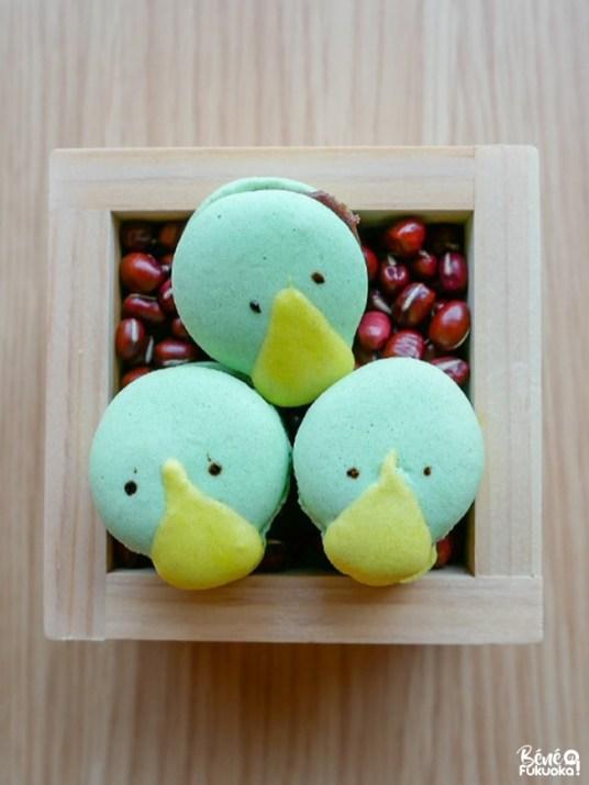 Macarons kappa, gare de Tanushimaru, Kurume, préfecture de Fukuoka