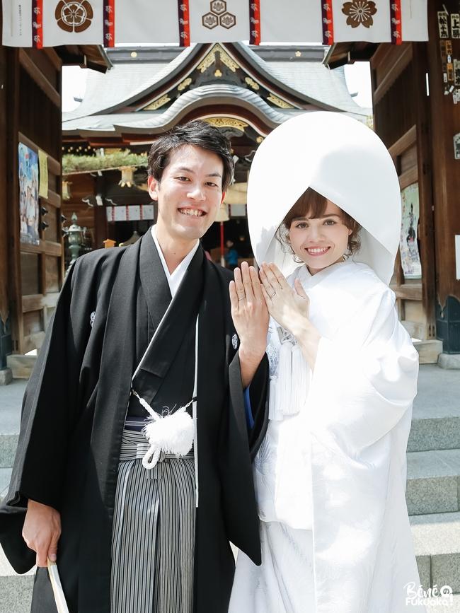 Mariage Franco Japonais La Ceremonie Au Sanctuaire Bene