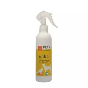 Nalia Spray con citronella ed Aloe Vera 95,2% per cani e gatti