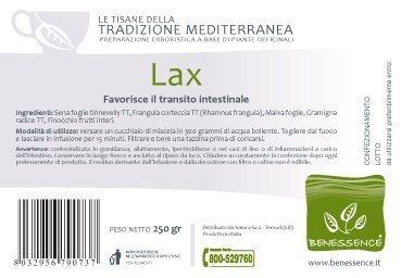LAX Tisana che favorisce il transito intestinale