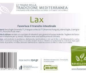 LAX Tisana che favorisce il transito intestinale