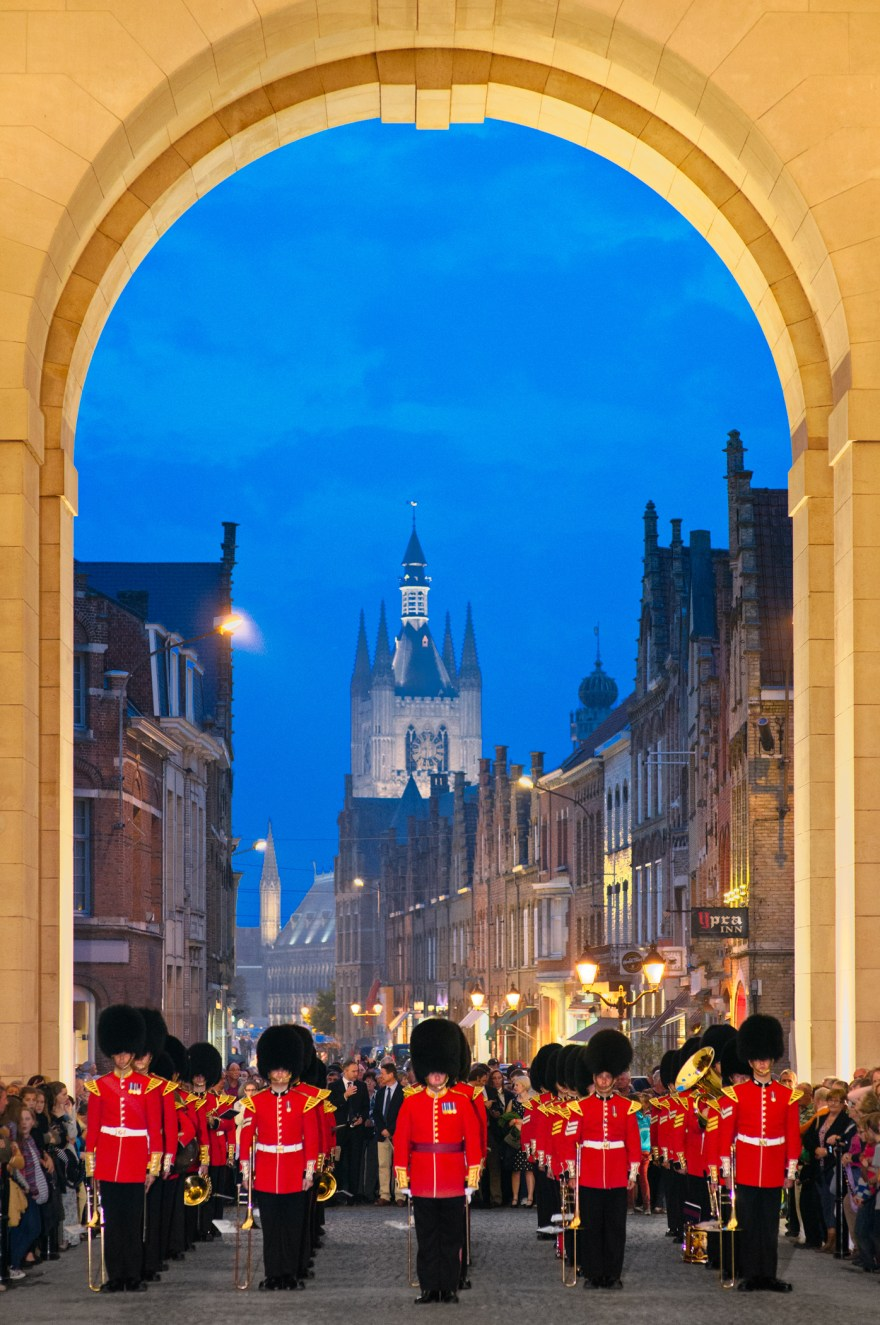 Grenadier Guards British Army Menin Gate Ypres Memorial