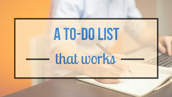 A To-Do List That Works