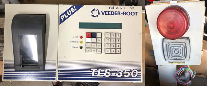Used Veeder Root Tls 350 Atg With Alarm