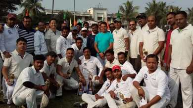 Photo of ক্রিকেটের মাঠে মুখোমুখি যুদ্ধে উত্তর দিনাজপুরের পুলিশ প্রশাসন ও সাংবাদিকরা
