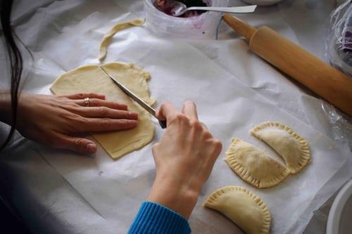 couper les ravioles