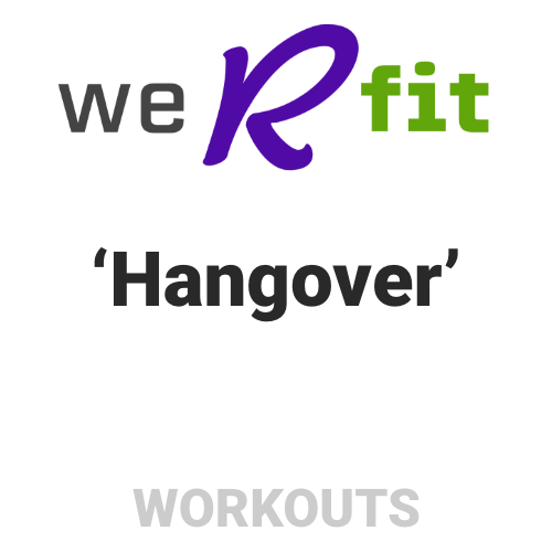 CrossFit Hangover Workout