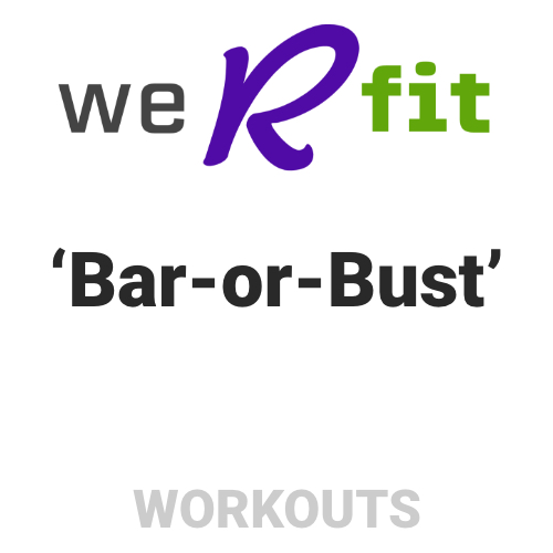 CrossFit Bar-or-Bust Workout