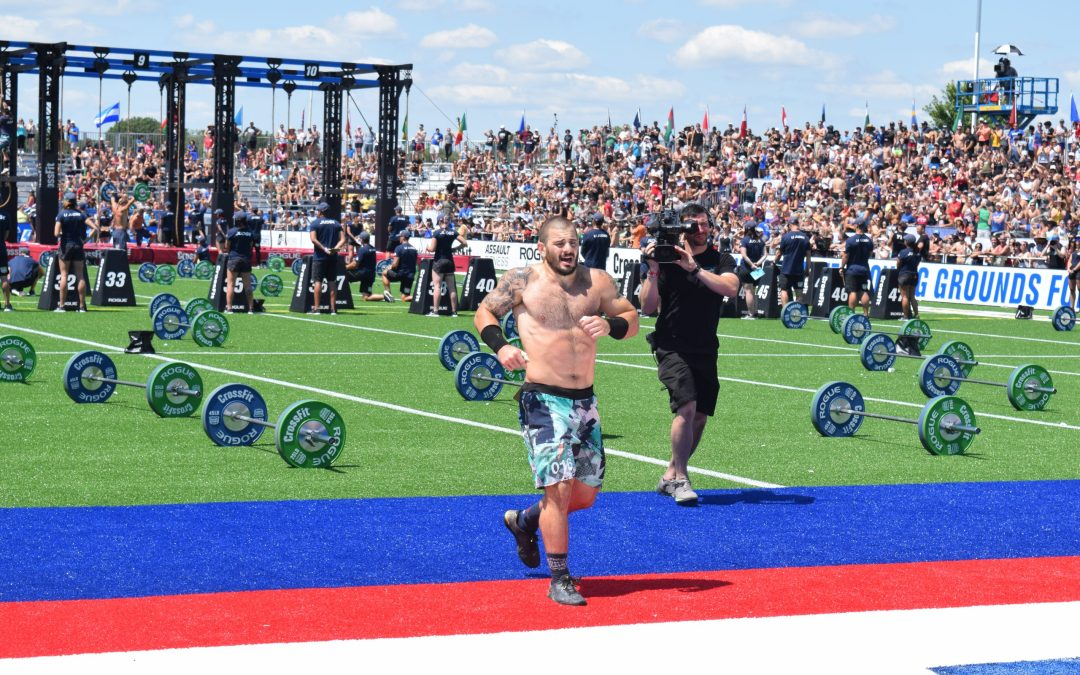 Mat Fraser is the second man to with the CrossFit Games four consecutive times.