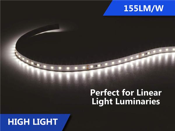 155lmw high efficiency led strip for