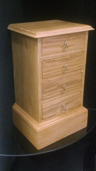 Tall Oak Jewelry Box Benham Design Concepts
