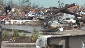 Damage footage from the 2013 Moore, Oklahoma EF-5 Tornado on May 20, 2013