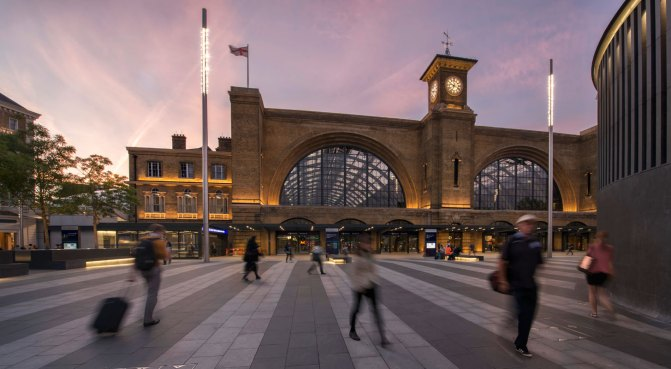 Kings Cross in the evening