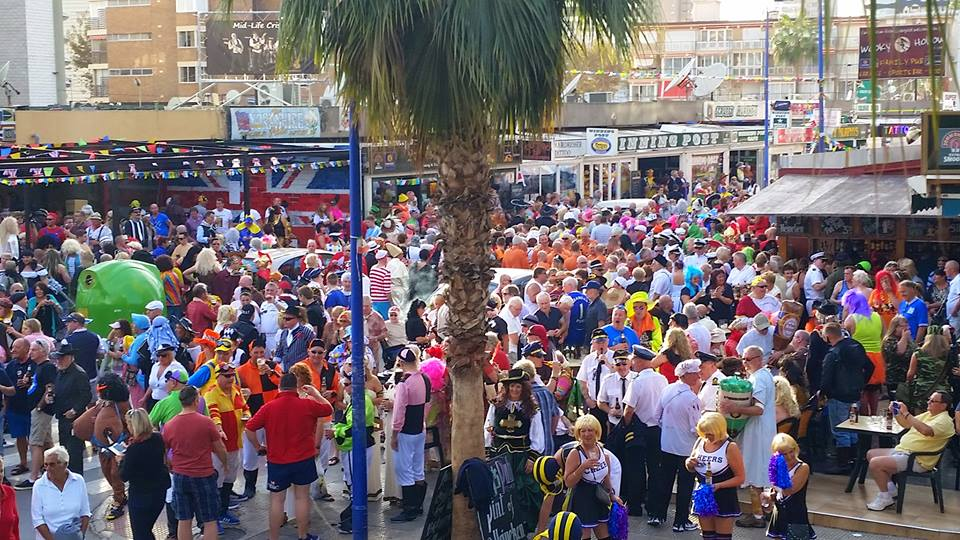 Benidorm Fancy Dress 2017 & Benidorm November fiesta