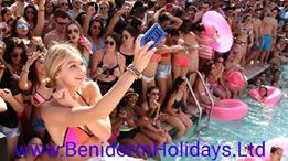 Benidorm-Party-pool-drinks-games-water