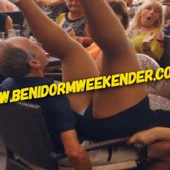 Pensioners Behaving Badly in Benidorm