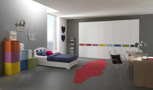 Interior design of teens room 2
