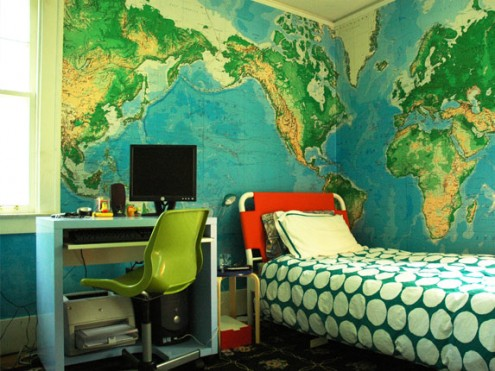 Interior design of teens room 3