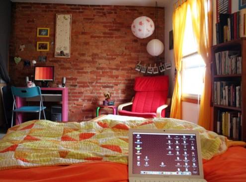 Interior design of teens room 12