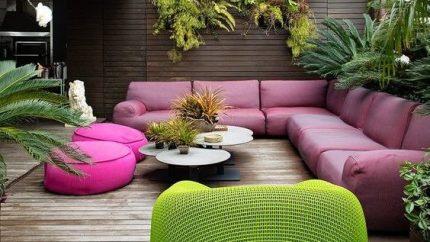 Patio and backyard design 1