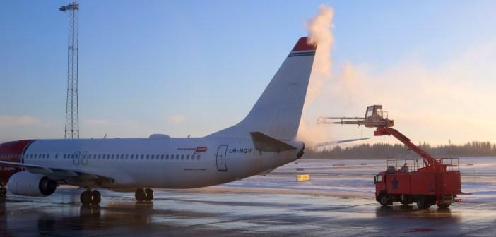 Uçaklar kışın sıvı ile neden yıkanır?