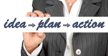 business idea, plan, success