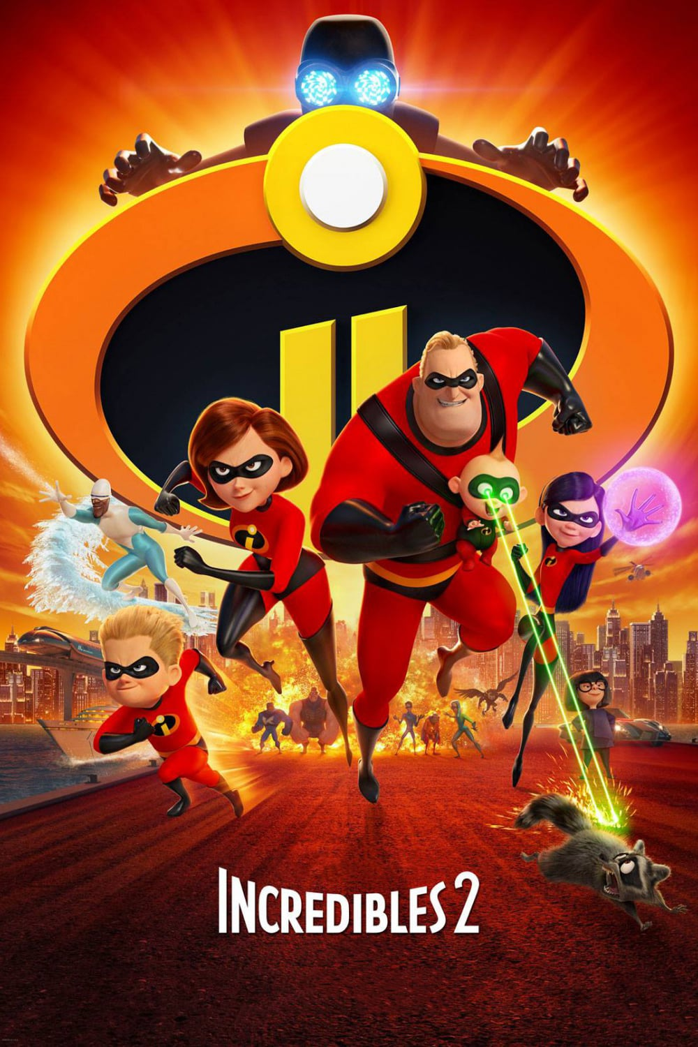 """Poster for the movie """"Incredibles 2"""""""