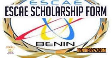 ESCAE Scholarship Form