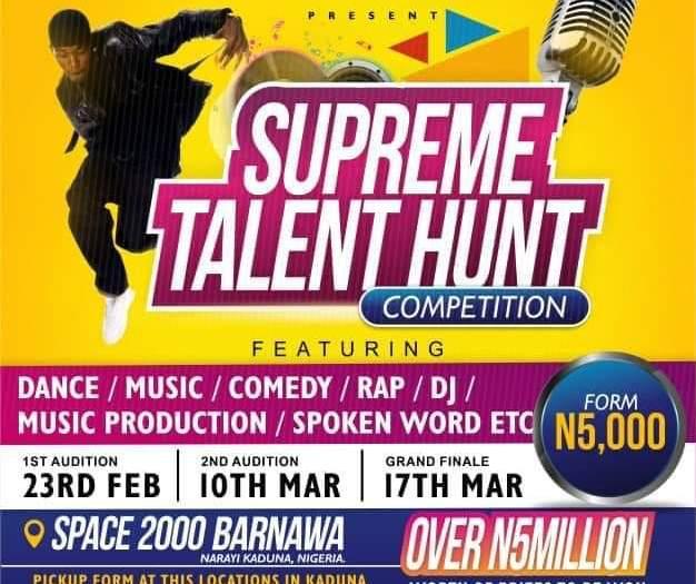 supreme talent hunt