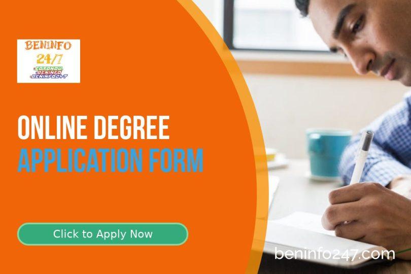 apply for online degree