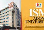 ISM Adonai university calavi