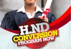 hnd bsc conversion program