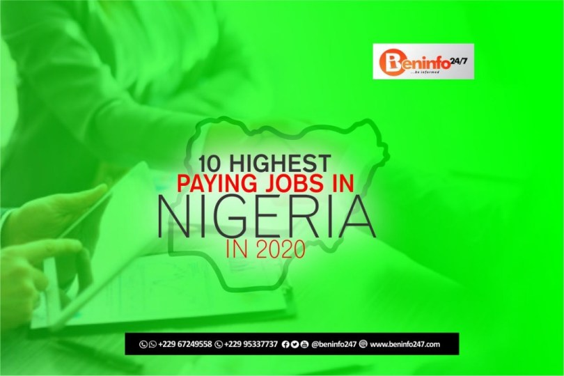 10 Highest paying jobs in Nigeria