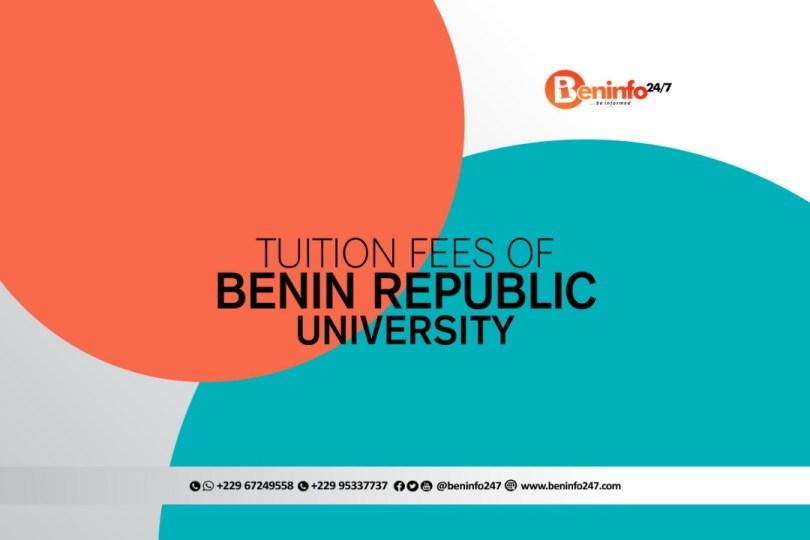 Benin Republic Universities Tuition Fee and accommodation