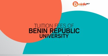 Tuition fee and accommodation in Benin Republic university