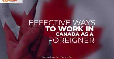 Fastest and most effective way to work in Canada as a Nigerian