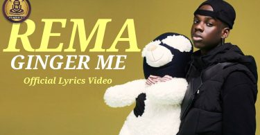 Rema - Ginger me (Official Lyrics Video)