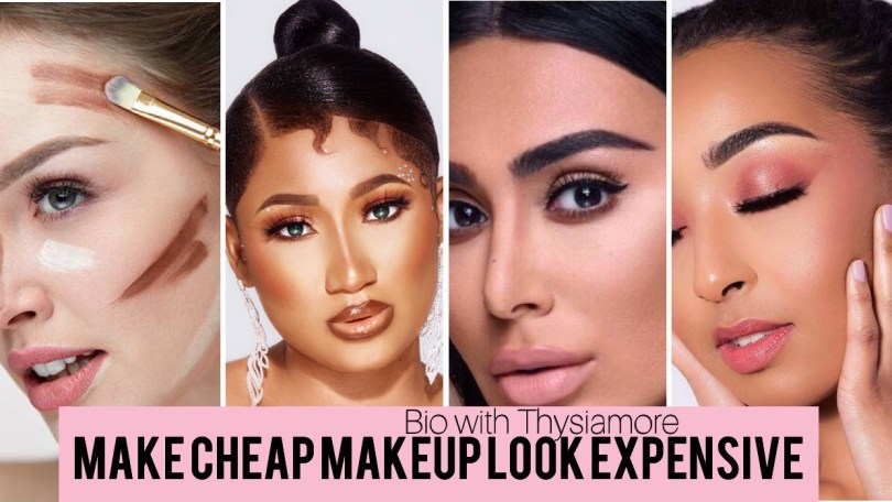 Make Cheap makeup look expensive/ Bio with Thysiamore