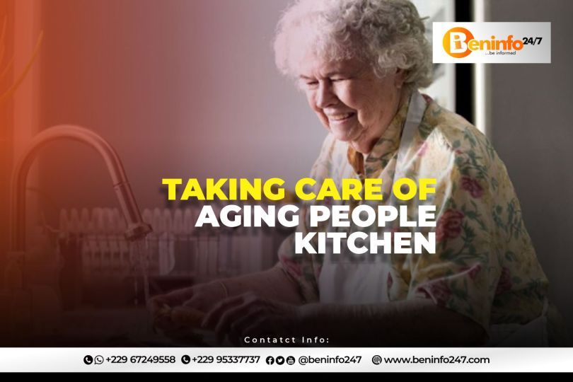 Taking care of Aging people Kitchen