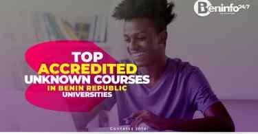Unknown courses in Benin Republic Universities