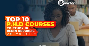 PhD courses to study in Benin Republic