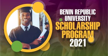 scholarship program in Benin Republic 2021