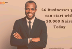 businesses you can start in Nigeria with 20000 naira