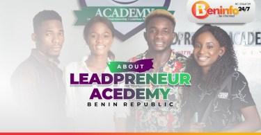 leadpreneur academy cotonou benin republic