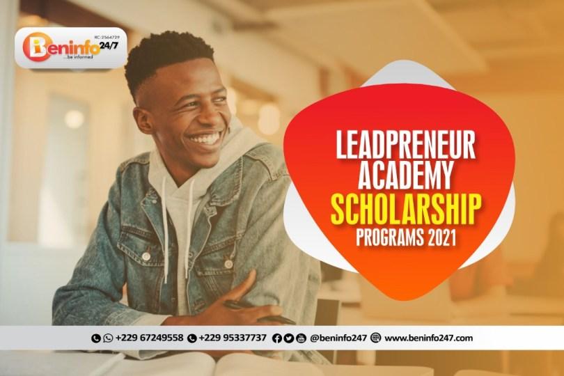 leadpreneur academy scholarship program