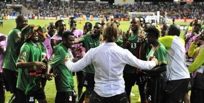 Zambie Championne Afrique 2012
