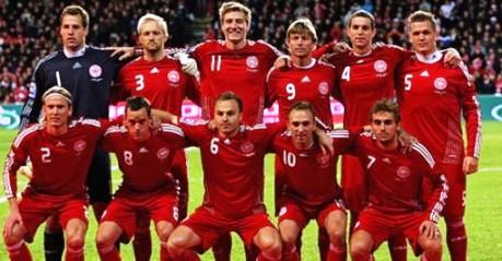 Equipe Danemark  Euro 2012