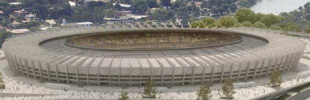 Estadio Nacional : Stade Mané-Garrincha (Brasilia)